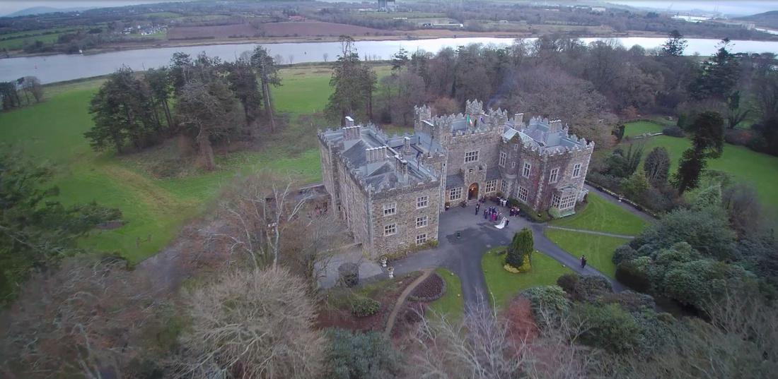 Wedding Photographer | Waterford castle VIP magazine feature wedding